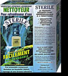 Produit STÉRILE Biodégradable